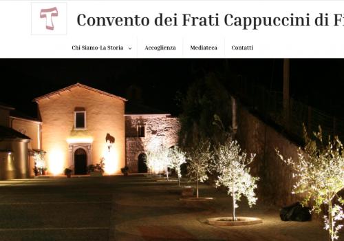 Nuovo sito Convento Cappuccini Fiuggi